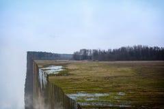 A ilusão das extremidades da terra Foto de Stock Royalty Free