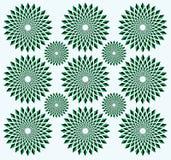 Ilusão do movimento de rotação Ilustração Royalty Free