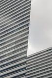 Ilusão dos blocos de escritório em Singapura foto de stock