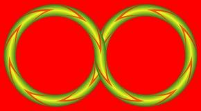 Ilusão (infinita) Ilustração do Vetor