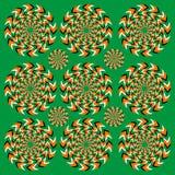 Ilusão perpétua da rotação Ilustração Royalty Free