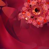 Ilusão vermelha 3 Imagens de Stock Royalty Free