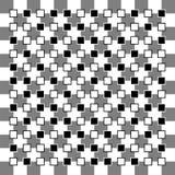 Ilusões óticas ilustração do vetor
