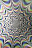 Ilusões óticas, túnel da luz da infinidade Fotografia de Stock Royalty Free
