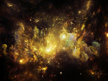 Ilusões da nebulosa Fotos de Stock Royalty Free