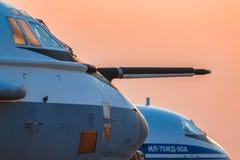 Ilushin Il-76 MD Russian Air Force Stock Photo