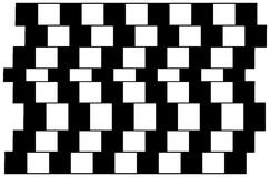 Ilusión óptica 2 Fotografía de archivo