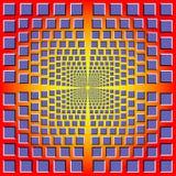 Ilusión óptica Foto de archivo