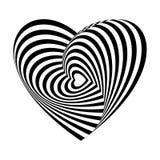 Ilusión óptica 007 Imagen de archivo libre de regalías