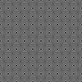 Ilusión blanco y negro inconsútil del modelo stock de ilustración