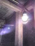 Ilusión de la lámpara fotografía de archivo libre de regalías