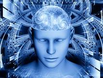 Ilusión de la mente Fotografía de archivo libre de regalías