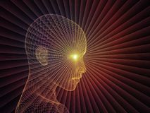 Ilusión de la mente Fotos de archivo libres de regalías