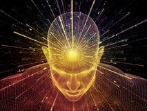 Ilusión de la mente Imágenes de archivo libres de regalías