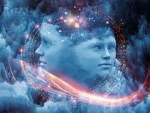 Ilusión de la mente Foto de archivo