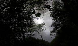 Ilusión de la oscuridad imagenes de archivo