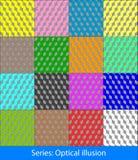 Ilusiones ópticas: Cubos Imagen de archivo