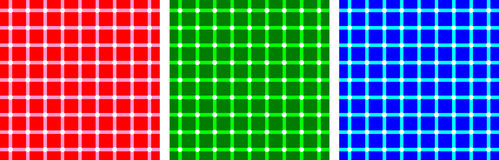 Ilusiones ópticas del RGB libre illustration