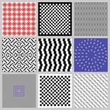 Ilusiones ópticas fijadas Fotos de archivo libres de regalías