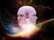 Ilusiones de la mente Imagen de archivo libre de regalías