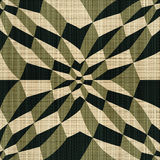 Ilusão geométrica Foto de Stock