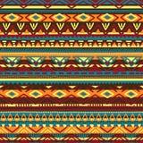 Ilustração étnica do vetor feito a mão Motriz tribais Imagem de Stock