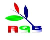Ilustração 03 do RGB Foto de Stock