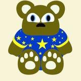 Ilustração 3 do urso fotos de stock royalty free