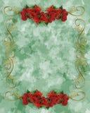 Ilustração 3D da beira do Natal Imagens de Stock Royalty Free