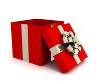 Ilustração aberta da caixa de presente 3d Imagem de Stock