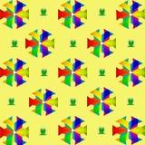 Ilustração abstrata Imagem de Stock