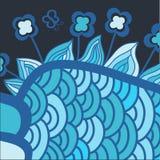 Ilustração abstrata colorida ilustração do vetor