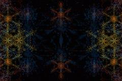 Ilustração abstrata colorida do fundo 3D Imagens de Stock