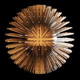 Ilustração abstrata da esfera 3d matriz ilustração stock