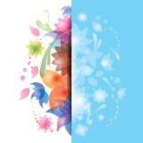 Ilustração abstrata da flor Foto de Stock Royalty Free