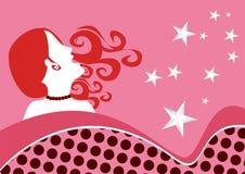 Ilustração abstrata da mulher Foto de Stock Royalty Free