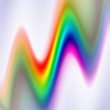 Ondas espectrais Imagem de Stock Royalty Free