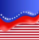 Ilustração abstrata de um Dia da Independência Imagens de Stock
