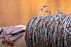 Ilustração abstrata do arame farpado Fotos de Stock
