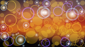 Ilustração abstrata do boke da cor do vetor do fundo Fotografia de Stock Royalty Free