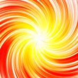 Ilustração abstrata do fundo do redemoinho das cores do sol Imagem de Stock Royalty Free