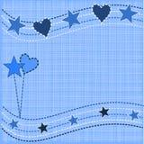 Ilustração abstrata do Natal ilustração stock
