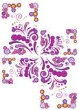 Ilustração abstrata do redemoinho Imagem de Stock Royalty Free