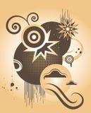 Ilustração abstrata - elementos do projeto Imagens de Stock