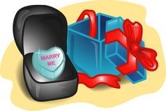 Ilustração ajustada do Valentim Fotografia de Stock