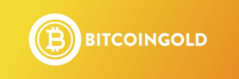 Ilustração amarela do fundo de BitcoinGold ilustração royalty free
