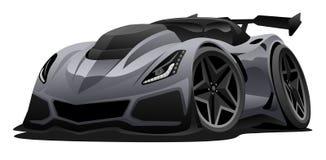 Ilustração americana moderna do vetor do carro de esportes ilustração royalty free