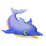 Ilustração: Animal ajustado: Golfinho ilustração do vetor
