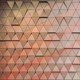 Ilustração arquitetónica abstrata do teste padrão 3D Fotos de Stock Royalty Free
