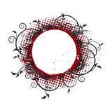 Ilustração arredondada da bandeira Imagens de Stock